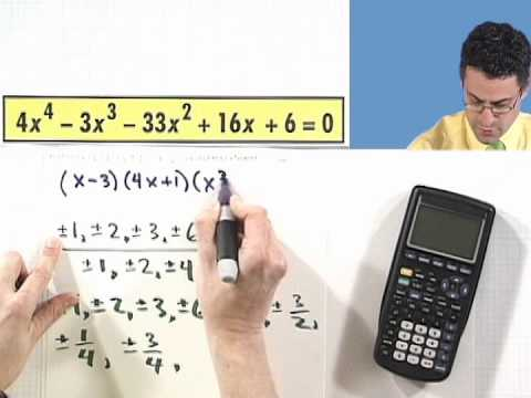 Finding All Zeros of a Polynomial Equation