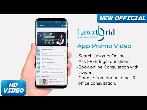 How to use Lawzgrid App - Legal Advice Online