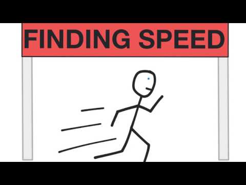Finding Speed (Know Distance, Time)