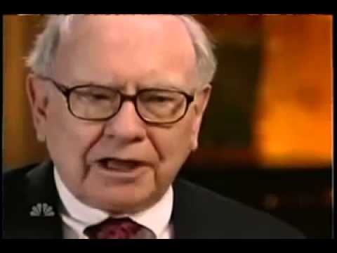 Warren Buffett Interview with Tom Brokaw, Oct 2008