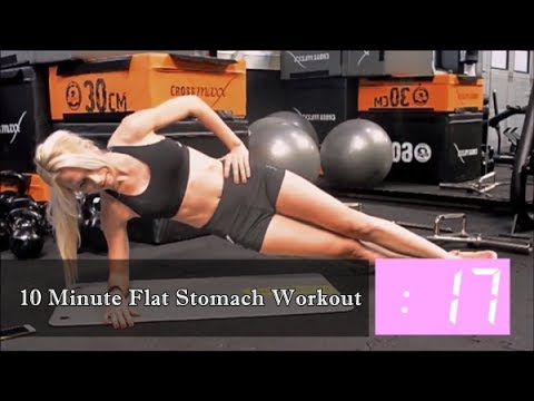 10 Minute Flat Stomach Workout | 10 Exercises For A Flat Stomach in 2 Weeks | Perfect Body Fitness