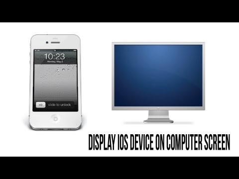 How To Display iPhone, iPad, and iPod Screen On Your Computer