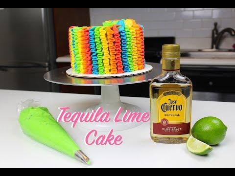 Cinco De Mayo Tequila Cake | CHELSWEETS