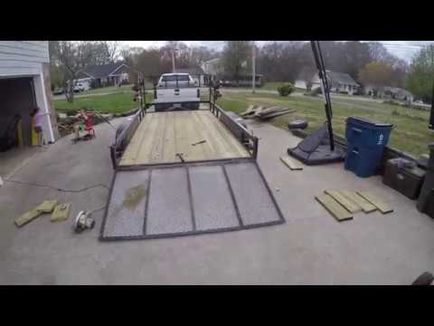Lawn Care Trailer Floor Replacement
