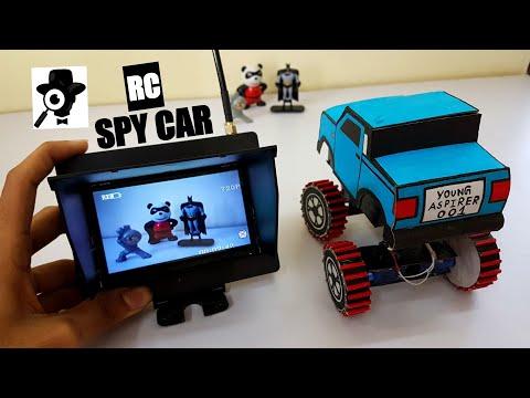 How to make a RC CAR WITH SPY CAM