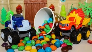 Мультики про машинки Вспыш и чудо машинки Крушила и конфеты Мультики для детей Видео про #игрушки