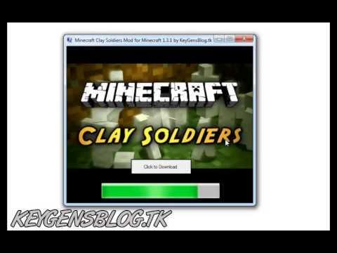 Minecraft Clay Soldiers Mod for Minecraft 1.3.1 -- Downloader