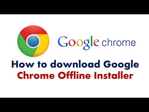 How to download google chrome offline installer | Hindi