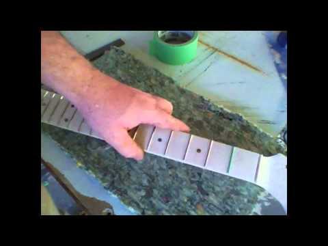 Strat/Tele Style Guitar Building - Vid 22 - Neck Finish