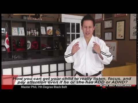 How can you get your child to better listen, really focus, and pay attention?
