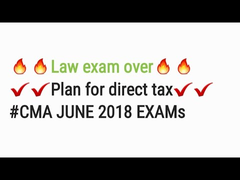 Law over. How to start DIRECT TAX