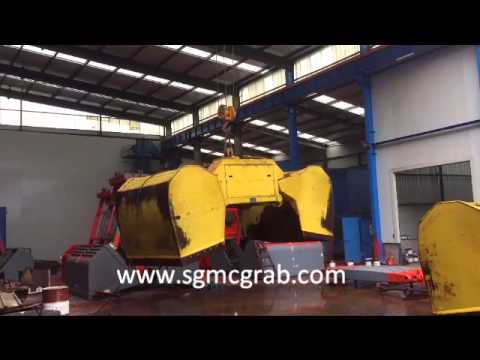 Motor Hydraulic Clamshell Grab Test  |China Manufacturer | SGMC®