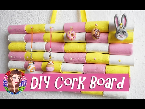 What to to Make from Recycled Corks? DIY Cute Cork Board Project- #TrashToTreasure
