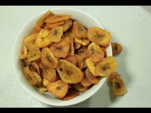 How to make Thin & Crispy Banana Chips