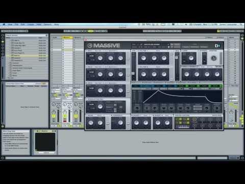 Alvin Risk / xKore Laser Sound - Native Instruments Massive Tutorial