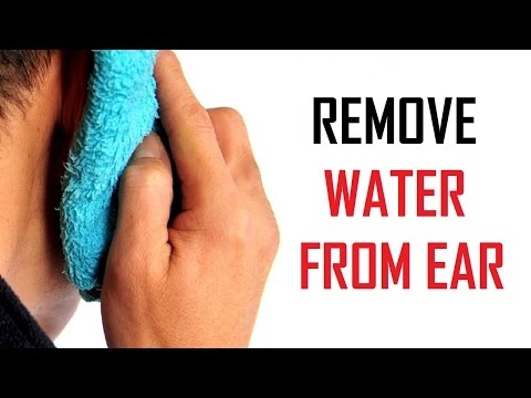 10 Easist Ways To Remove Water From Ear