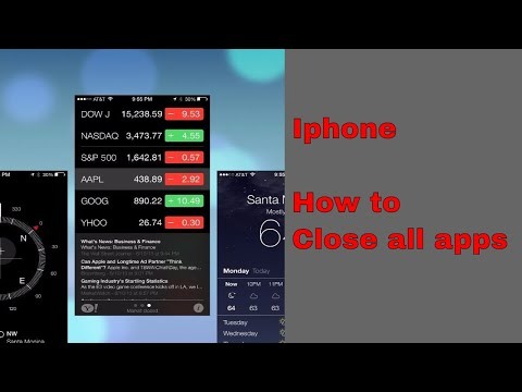 how to close apps running in background on iphone | ipad | ios device Quick and Easy