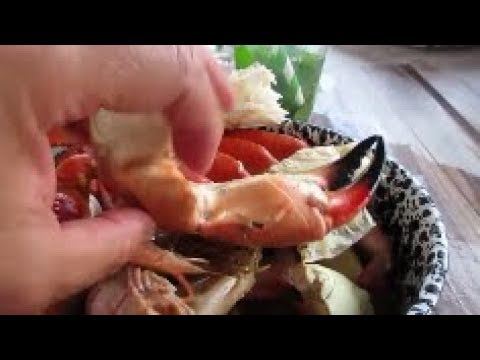 My 1st time Eating Stone Crab Key West