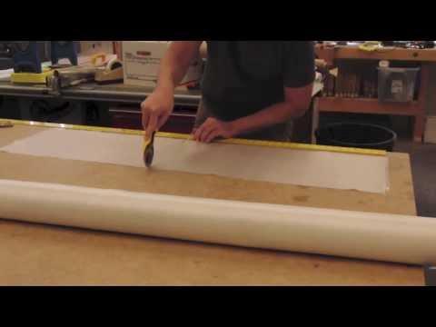 Cutting Fiberglass Cloth
