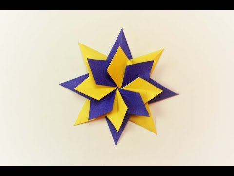 How to make a paper Magic Star?