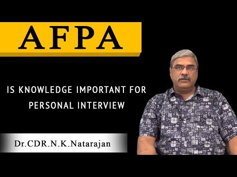 Is Knowledge Important for Personal Interview