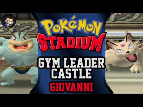 Pokémon Stadium - Gym Leader Castle | Giovanni |