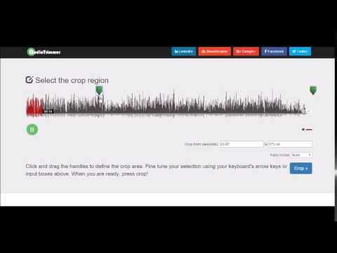 How to cut and trim audio files with AudioTrimmer