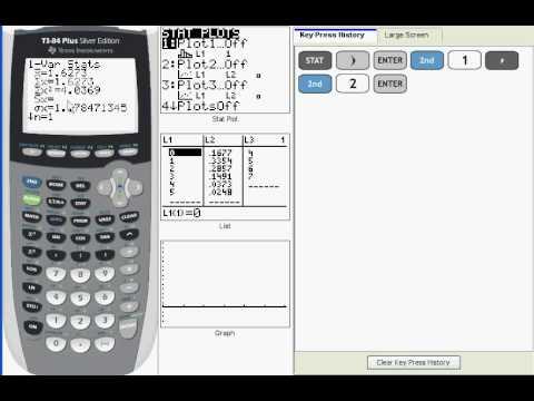 Ti 83/84:  Discrete Probability Distributions (V03)