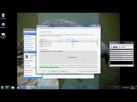 How to Run A Disk Defrag With Auslogics Boostspeed