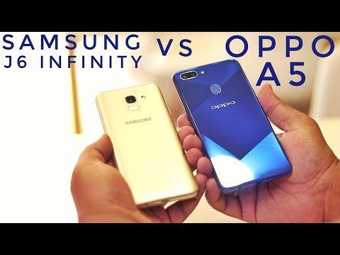 Oppo A5 Vs Samsung J6 Infinity Speed Test