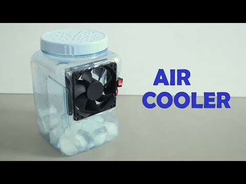 How to Make a powerful Air Cooler at home - Homemade DIY