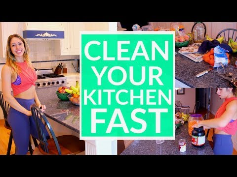 6 Steps to Clean your Kitchen FAST