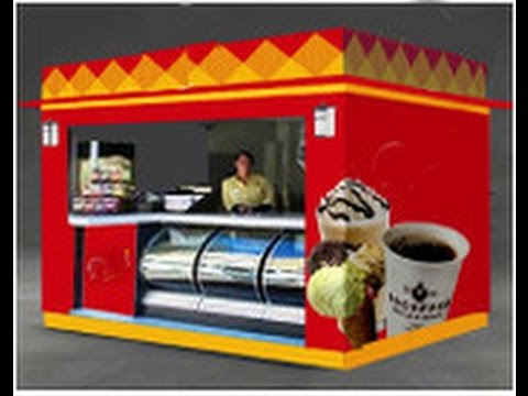 Food Concession Stands for Sale | Custom Outdoor Mobile Kiosks