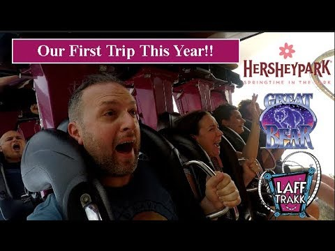 HersheyPark!! Our First Day This Year - April 14, 2018