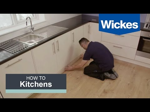 How to Fit a Kitchen Plinth, Pelmet and Cornice with Wickes