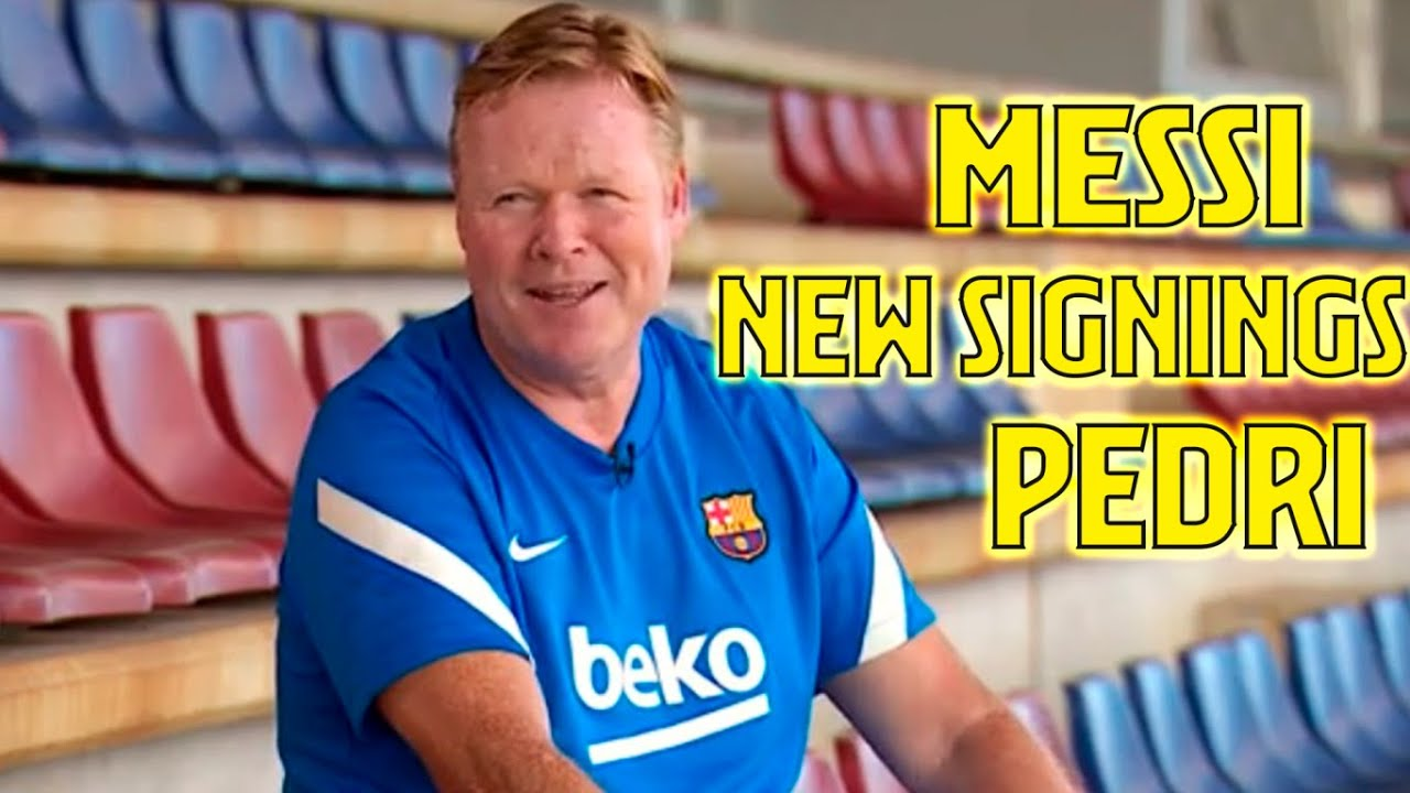 🚨 MESSI, DEPAY, PEDRI... *EXCLUSIVE INTERVIEW* with Ronald Koeman about the 21/22 season!