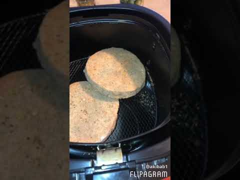 Turkey Burgers in the Airfryer. JUICY!