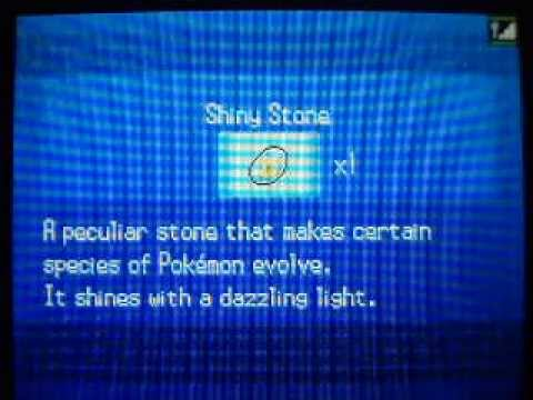Pokemon Black/White - How to get Shiny Stone