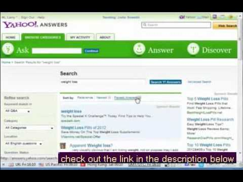Increase Website Traffic - Yahoo Answers part 1 Add Link Exchange