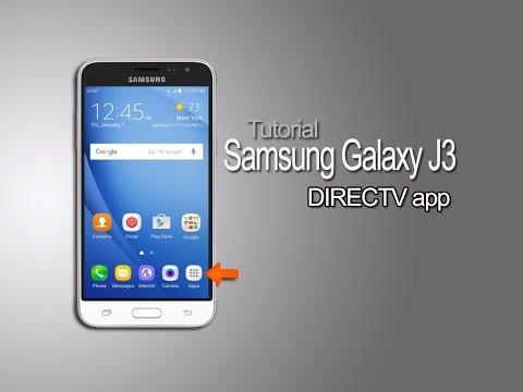 Samsung Galaxy J3 - DIRECTV app Tutorial