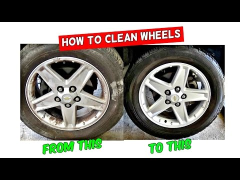 HOW TO CLEAN WHEELS WITH CARPET CLEANER