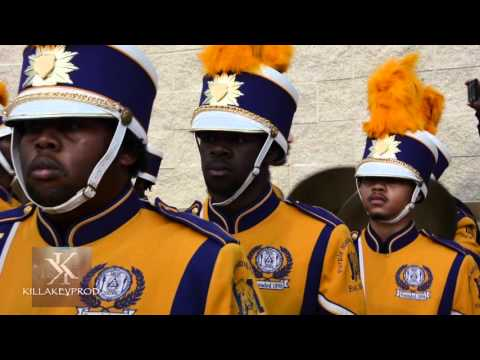 Miles College Marching Band - Entrance - 2015