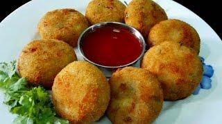 Rava Cutlets Recipe || Suji Cutlet / Rava Cutlets ( Vegan)