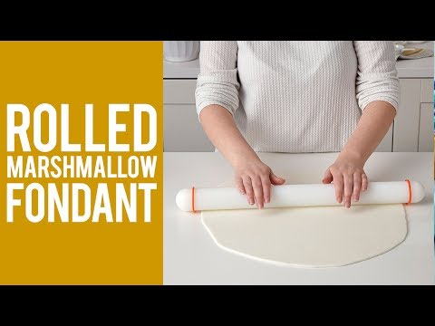 How to Make Rolled Marshmallow Fondant Recipe
