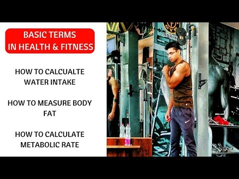 How to calculate calories | Measure Body fat percent | calculate macros |  calculate  metabolic rate