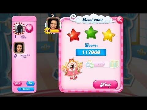 Candy Crush Saga 2889   |   3-Star ⭐⭐⭐