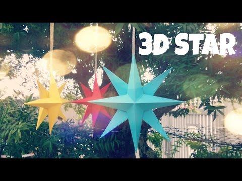 Paper Star Tutorial - Origami Easy