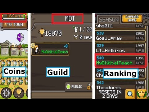 How to hack Grow Castle  [ROOT] (Anti Ban Tips with Ranking n Guild , Unlimited Coins)