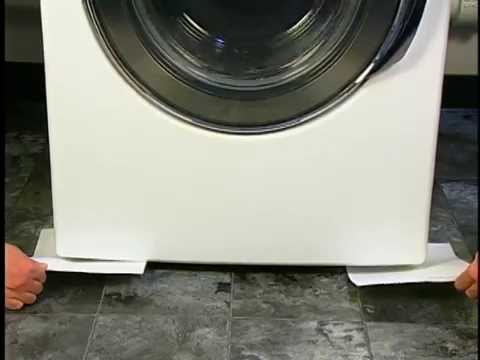 How to Install a Front Load Washer: Washing Machine Tips by Sears Home Services