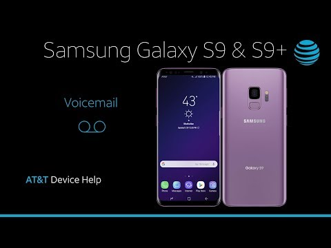 How to Use Voicemail on Your Samsung Galaxy S9 / S9+ | AT&T Wireless